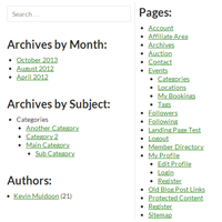 How to Create a WordPress Archives Page