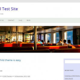 A WordPress child theme made easy… and easier