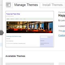 Adding a screenshot for a WordPress child theme