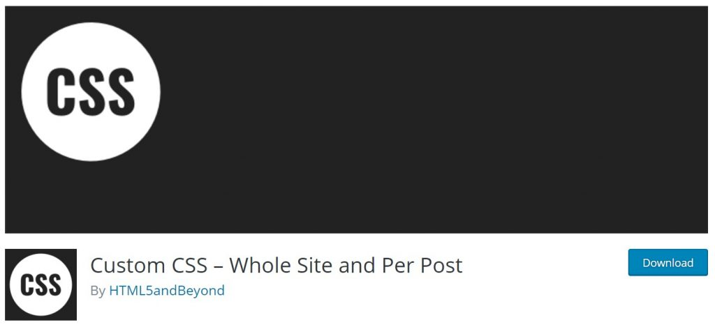 custom-css-whole-site-and-per-post