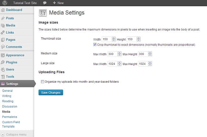 media-settings-wp35-before-plugin