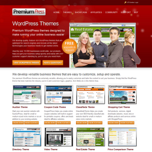 PremiumPress Themes - WordPress Theme Detector