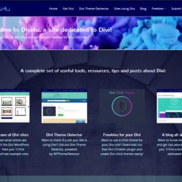Divi4u: All about the Divi WordPress Theme