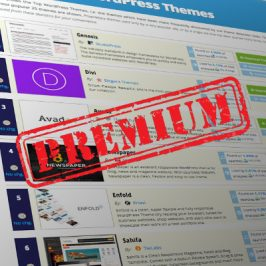 All Top Ten WordPress themes are premium now