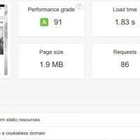 Easy Caching for Wordpress with 2 plugins - Results