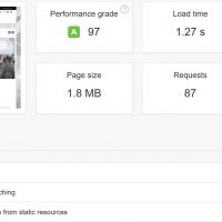 Easy Caching for Wordpress with 2 plugins - Results 2