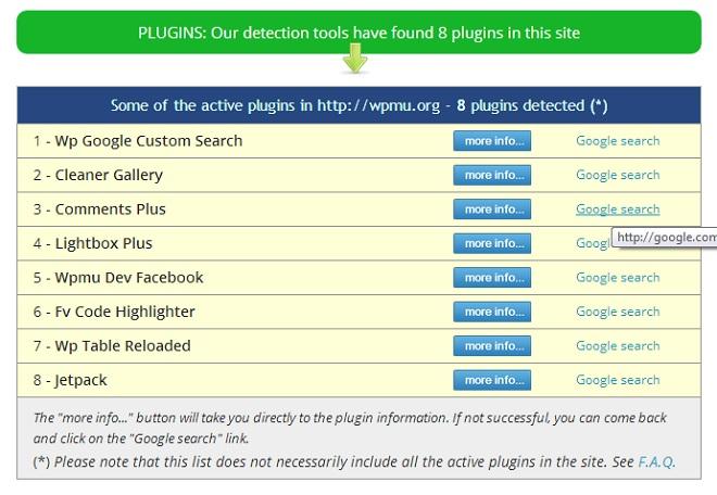 WPThemeDetector Plugin Detector